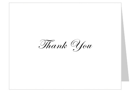 Thank You Wall – Thank You Card Templates Free Download